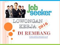[New] Lowongan Kerja di Rembang