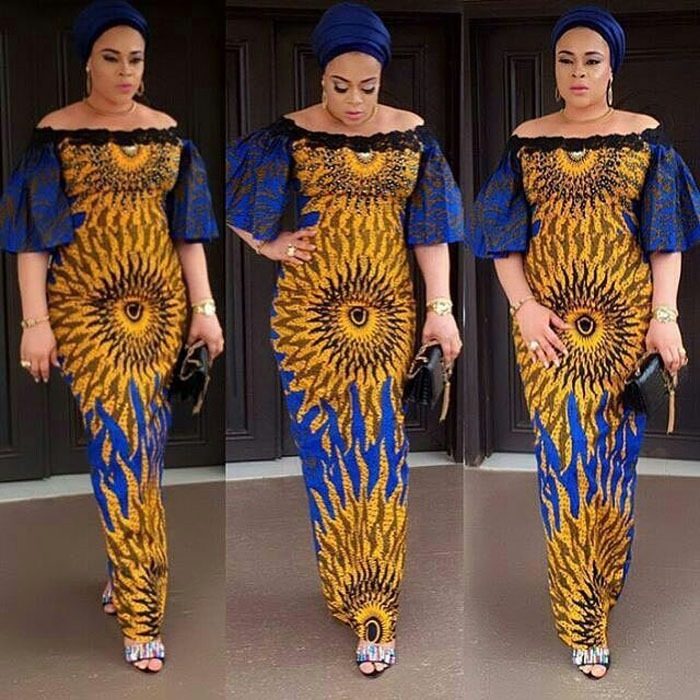 50 Of The Latest Long Ankara Dress Styles In 2017 Pictures Of Long Free Ankara Gowns
