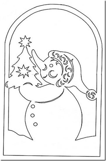 patrones para recortar ventanas navidad  (6)