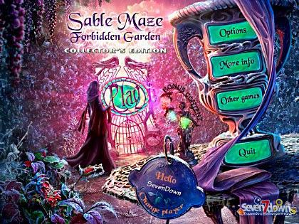 Sable Maze 3: Forbidden Garden Collector's Edition