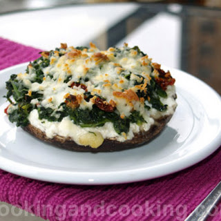 Stuffed Portobello Mushrooms.