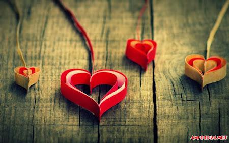 17 hình nền cho tình yêu hình trái tim đẹp lung linh