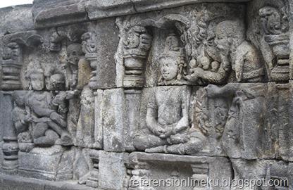 Relief pada Candi Borobudur