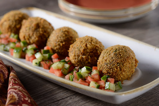 Falls Family Falafel. From How to Eat Well at Disney World:  The Jungle Navigation Co. Ltd. Skipper Canteen