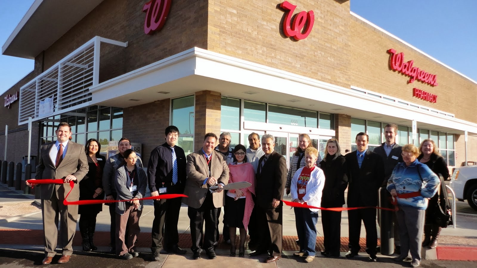 """Walgreens believes its customers deserve this new location.  One of their new key initiatives is to own """"well"""" as a company and as customers walk around the new location they can see that Walgreens is helping people everyday get, stay and live """"well""""."""