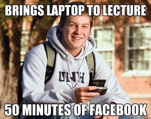 College Freshmen In Lecture