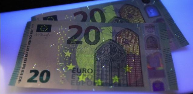Inilah desain gambar uang euro terbaru pecahan 20