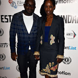 OIC - ENTSIMAGES.COM - Femi Oyeniran and Lorna Brown at the Taking Stock Premiere at the Raindance Film Festival  London 4th October 2015  Photo Mobis Photos/OIC 0203 174 1069