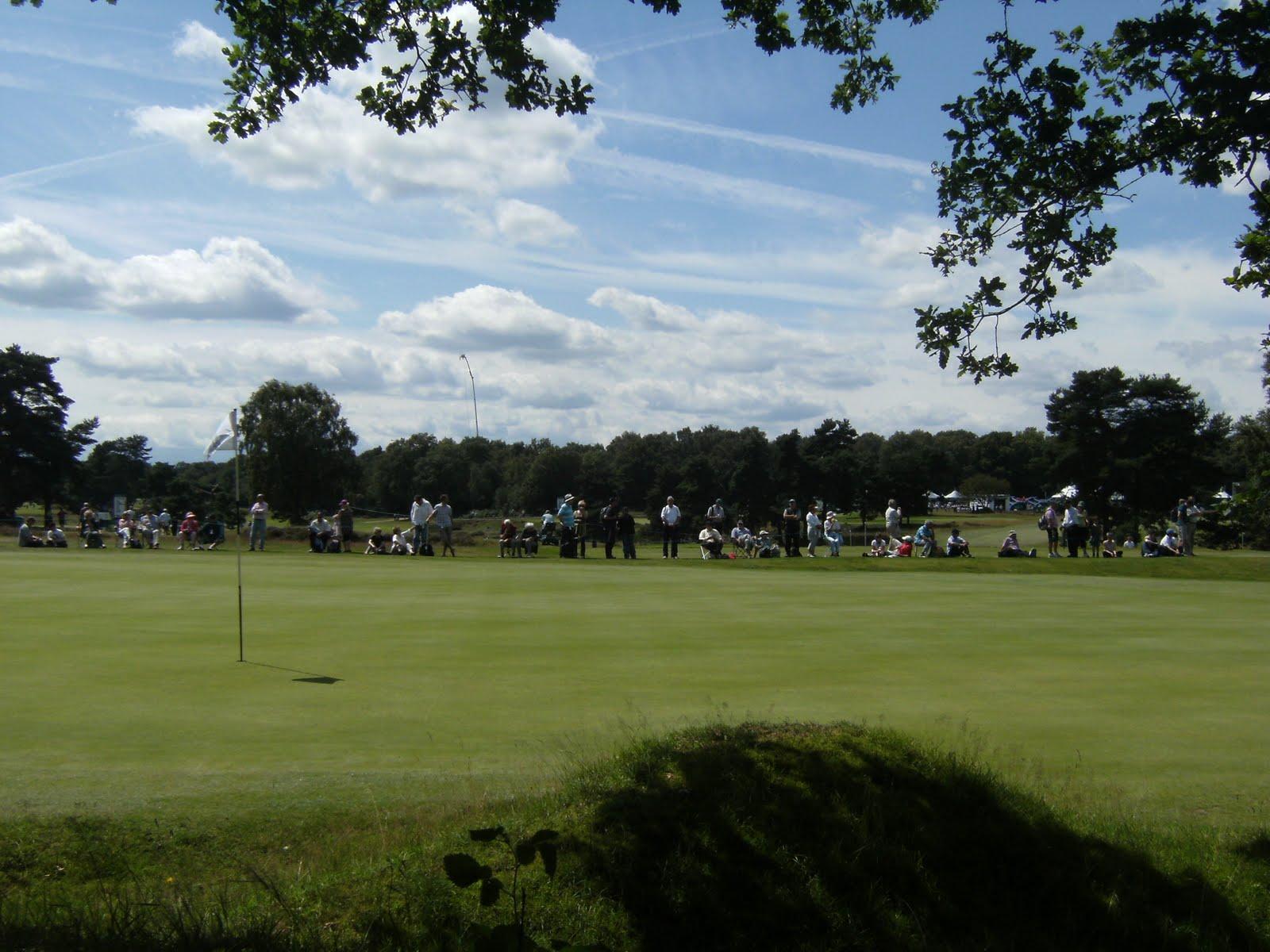 DSCF8939 Seniors Open, Walton Heath golf course