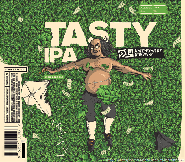 21st Amendment Tasty IPA Coming To 19.2oz Cans