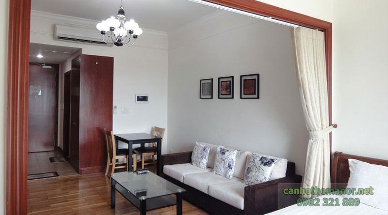 căn hộ the manor cần bán căn hộ 1 phòng ngủ quận Bình Thạnh