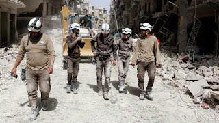 Netflix, Hollywood, prix Nobel… mais qui sont les Casques blancs syriens?