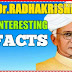 Biography of Dr.Radhakrishnan/Happy teachers day..