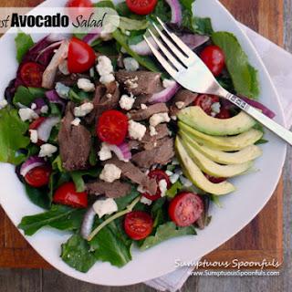 Pot Roast Avocado Salad
