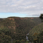 View up Erskine Creek from just below Pisgah Rock (143712)