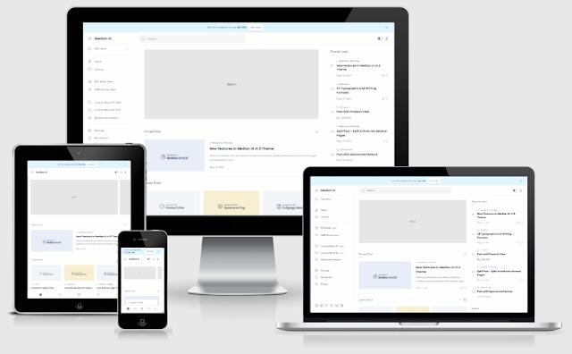 Median UI Premium Blogger Template