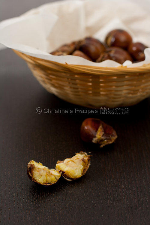 烤焗栗子 Baked Chestnuts01