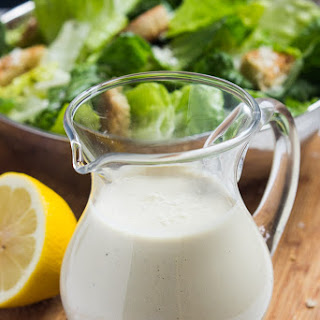 Greek Yogurt Caesar Dressing