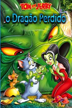 Capa Tom e Jerry: O Dragão Perdido (2014) Dublado Torrent