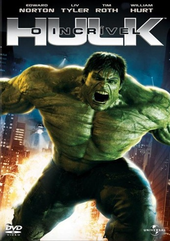 O Incrível Hulk - Capa - DVD