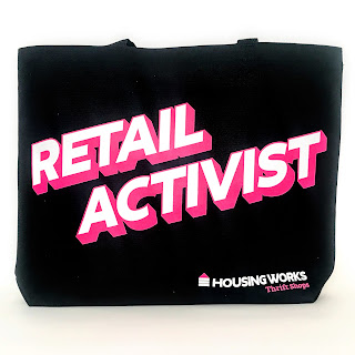 Housing Works 'Retail Activist' Canvas Tote