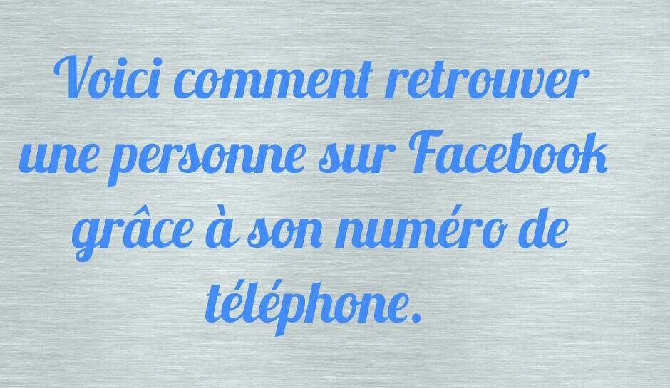 Africa Tutos Retrouver Le Compte Facebook Dune Personne à Laide