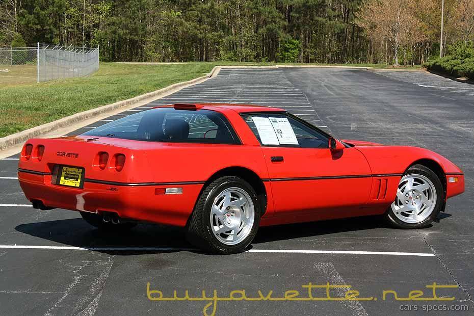 1991 Chevrolet Corvette Zr1 Specifications Pictures Prices