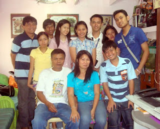 February 28: Rose Dianne Ancuelo's House without Rose Dianne. Only his father and mother joined in photo. (Mandaluyong City)