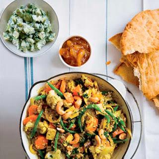 Vegetable Quinoa Curry.