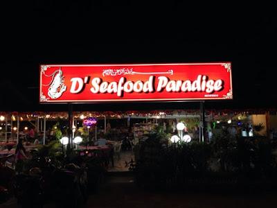 D'Seafood Paradise, Teluk Tempoyak