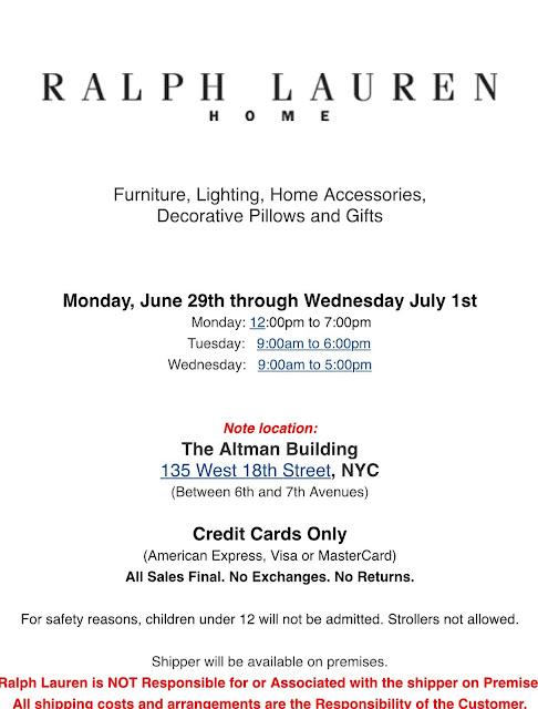 June Sample Sales | Practically Haute