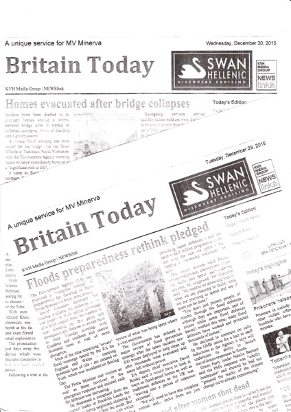Daily News Sheet