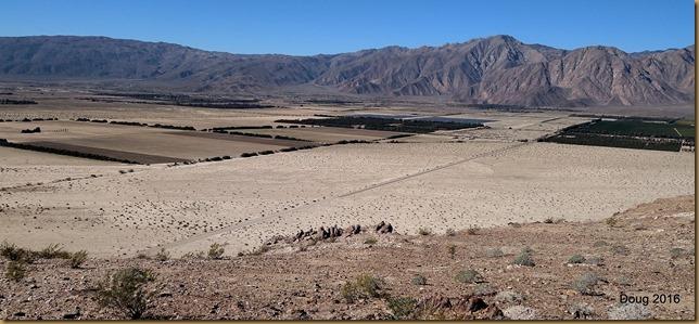 View of Borrego Springs, California