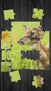 Zvířata Puzzle Hry pro Děti - náhled