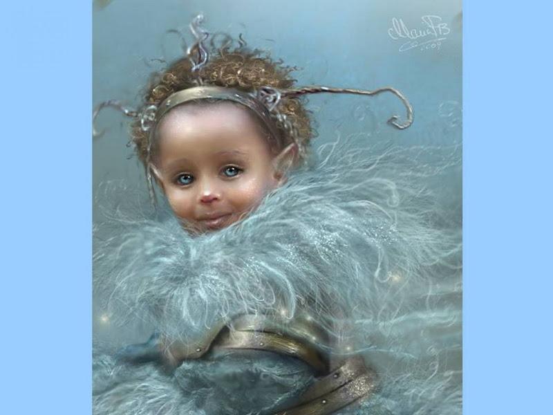Snow Elven Queen, Elven Girls 2