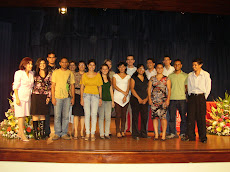 15. Earth Charter Students 2010 award with members of UNA EC Network