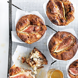 Fig And Ricotta Almond Muffins