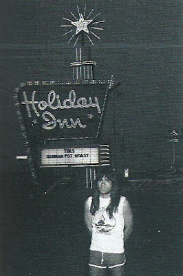 tbotr-In this instance 5.00 am outside the bands hotel in Odessa, Texas, August 17-1982