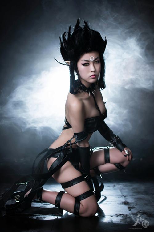 Ngắm cosplay Evelynn Bóng Đêm cực quyến rũ - Ảnh 3