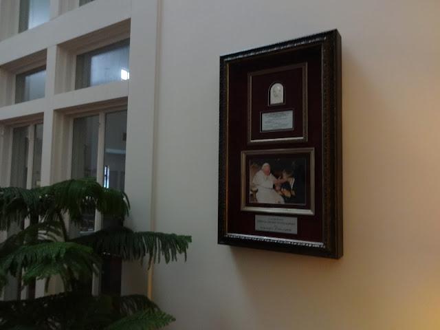 Poświęcenie tablicy pamiątkowej pp. Krawczyńskich - DSC01839.JPG
