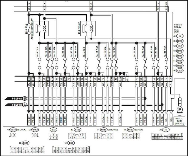 Subaru Impreza Fog Light 2004 Wiring Diagrams Wiring Schematic Diagram
