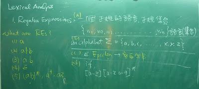 正規表示式的定義和正規語言