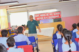 Photo: Govt Model Sr Sec School, Sector-32, Chandigarh