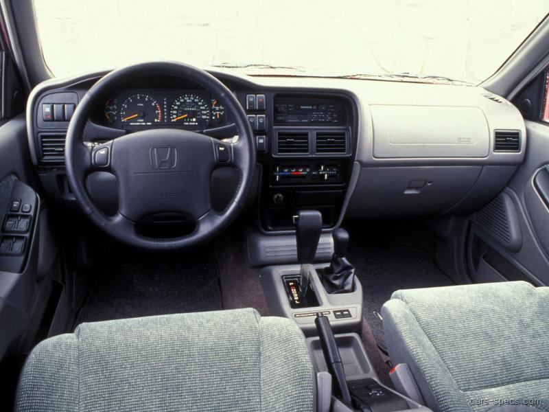 1994 Honda Passport SUV Specifications Pictures Prices