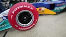 Sauber C23 red Bridgestone