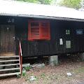 sklonište u blizini doma gdje smo prespavali