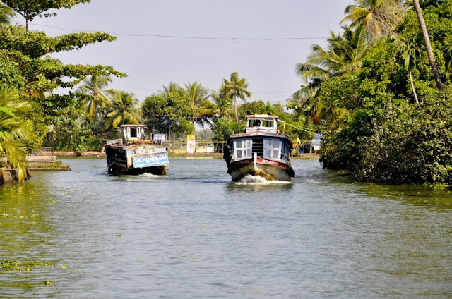 Promenade sur les Backwaters