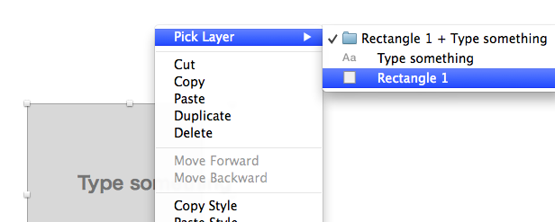Pick Layer