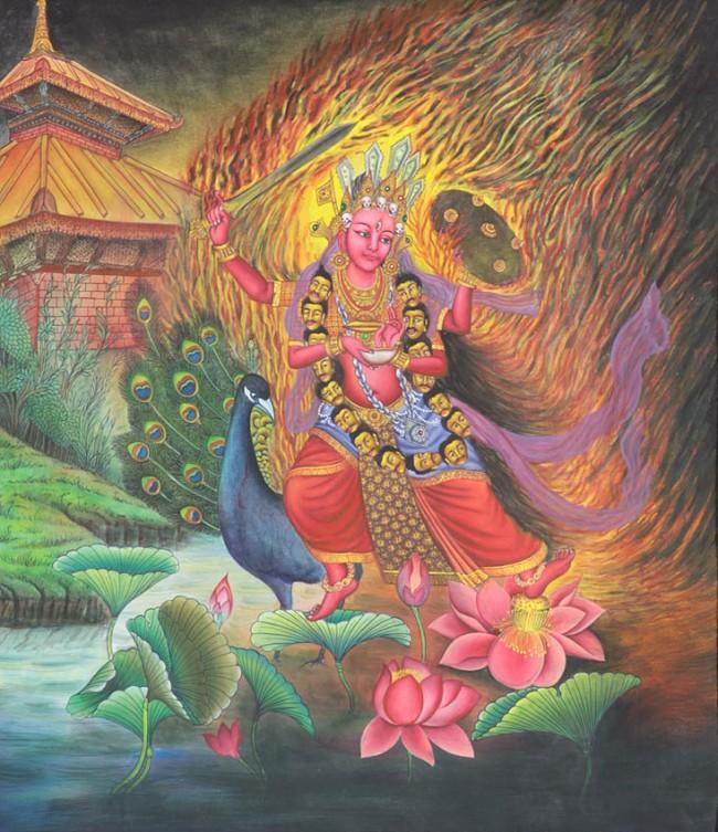 Goddess Kumari, Gods And Goddesses 6