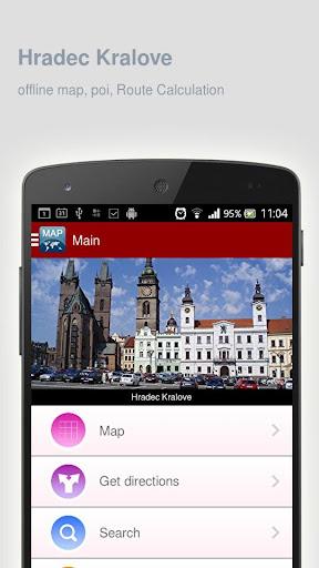 Hradec Kralove Map offline